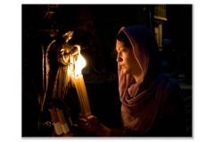 woman-flames-pray-12x18