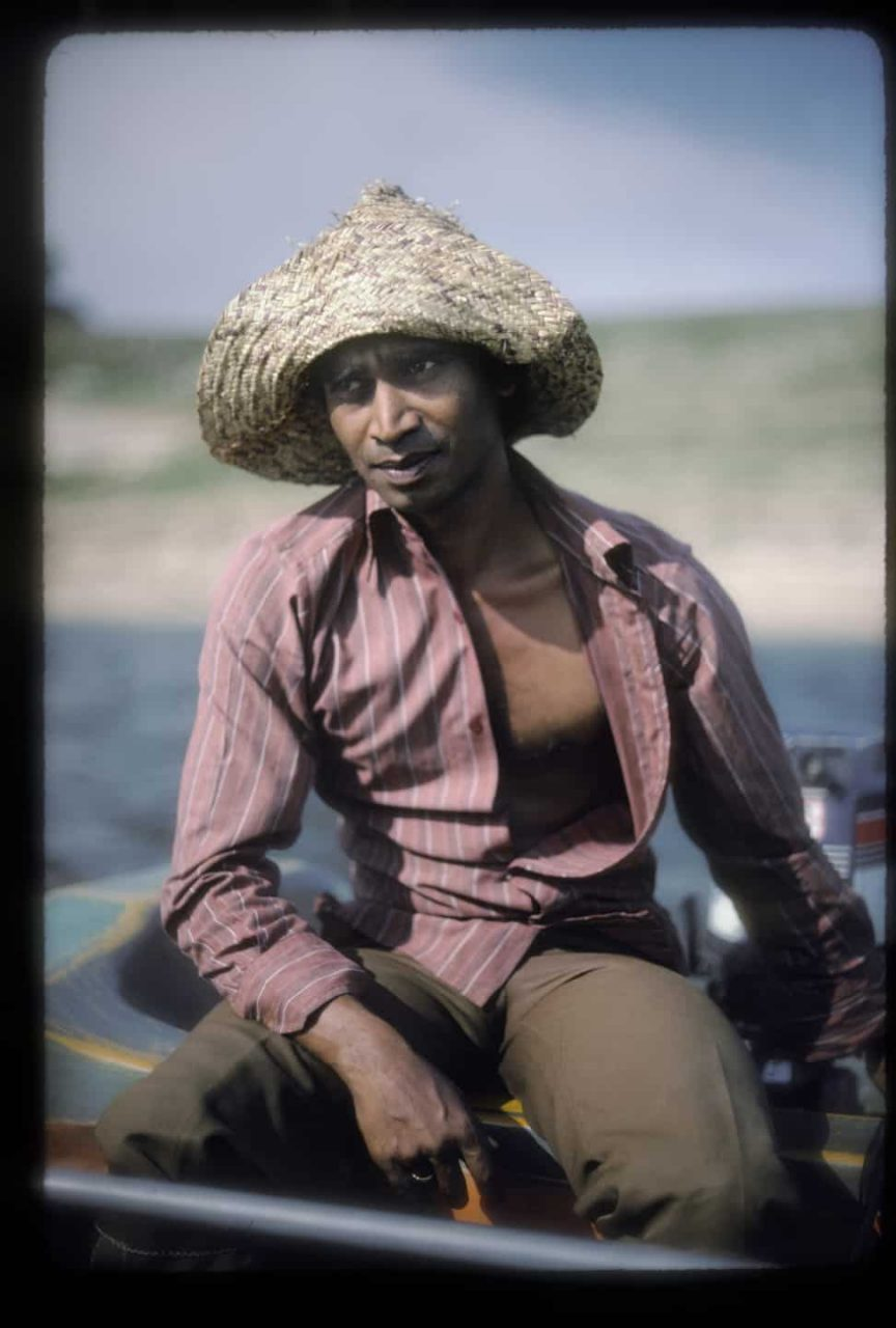 Boatman, Sri Lanka 1983